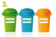 La prise en charge du tri des déchets